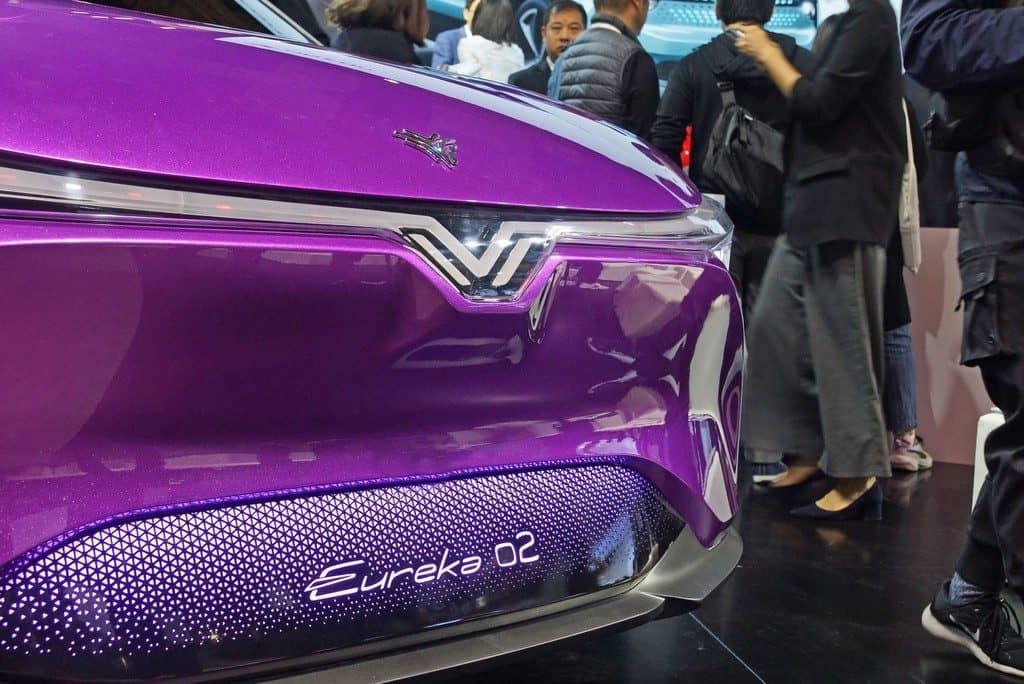 Auto China in Shanghai ganz chinesisch: Eureka 02.