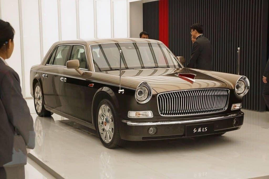 Auto China in Shanghai ganz chinesisch: Hongqi LS.