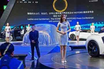 Auto China in Shanghai ganz chinesisch.
