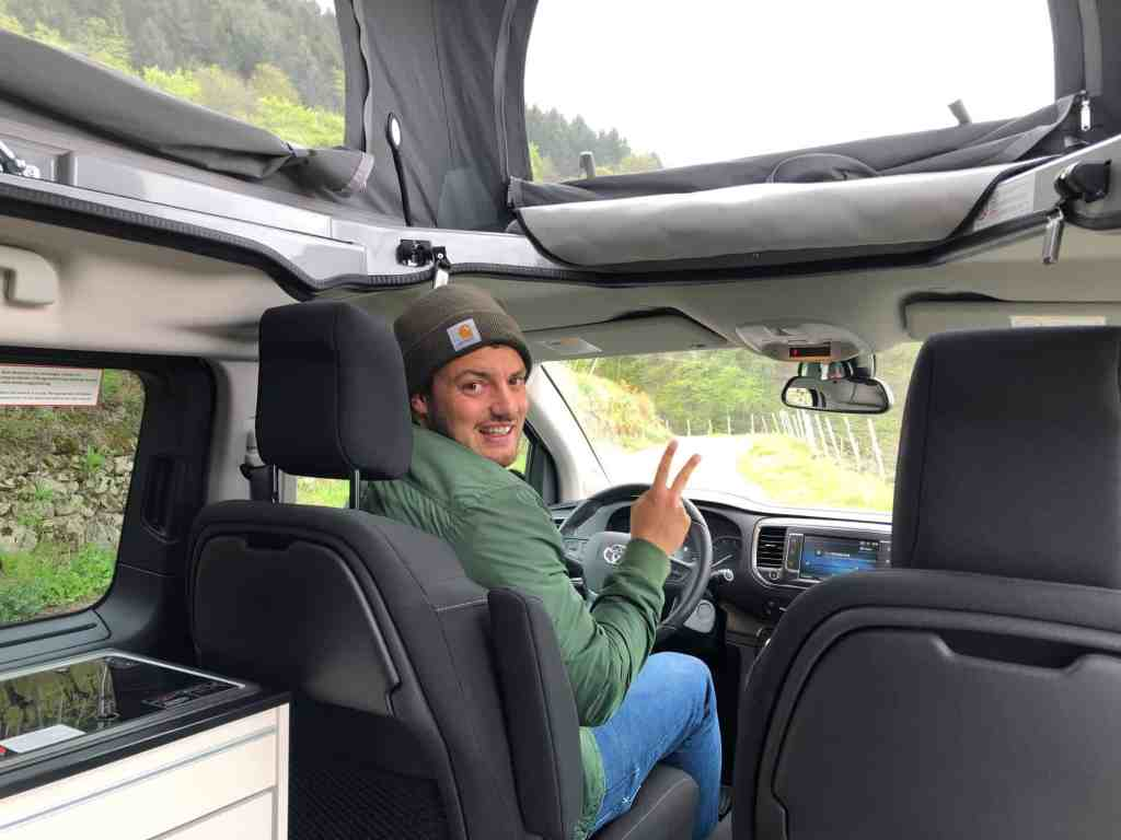 Crosscamp - Camping-Van auf Toyota Proace Verso Basis