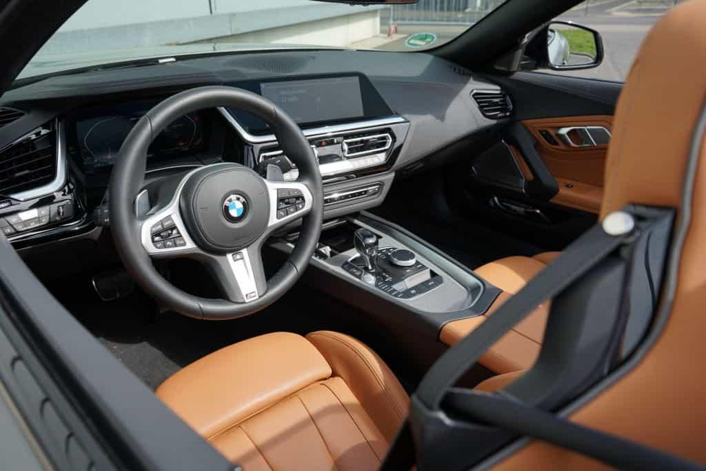 BMW Z4 M40i (340 PS), Ledersitze