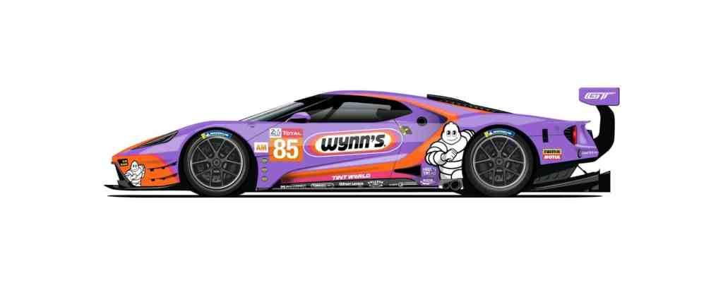 Keating Motorsports komplettiert den Auftritt mit einem Ford GT in der Klasse GTE-Am.