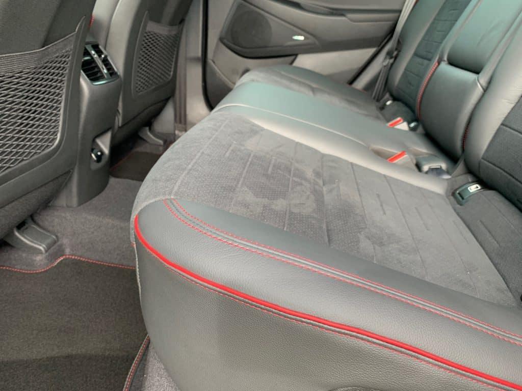 Hyundai Tucson, Rücksitze