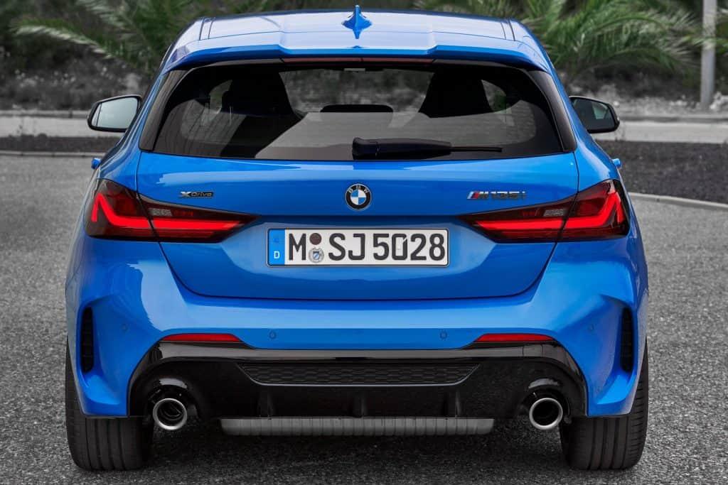 Der neue BMW 1er (05/2019), Heck