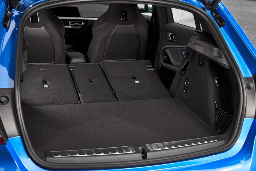 Der neue BMW 1er (05/2019), Kofferraum