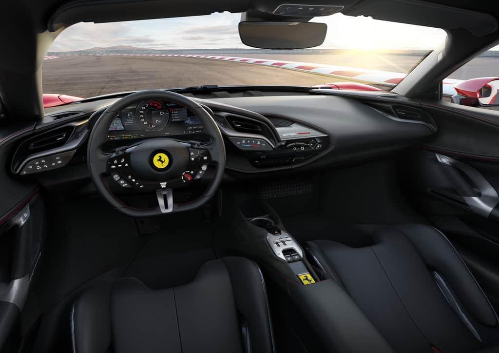 Ferrari SF 90 Stradale, Lenkrad