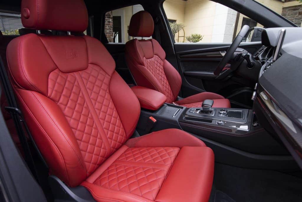 Audi SQ5 TDI, Ledersitze