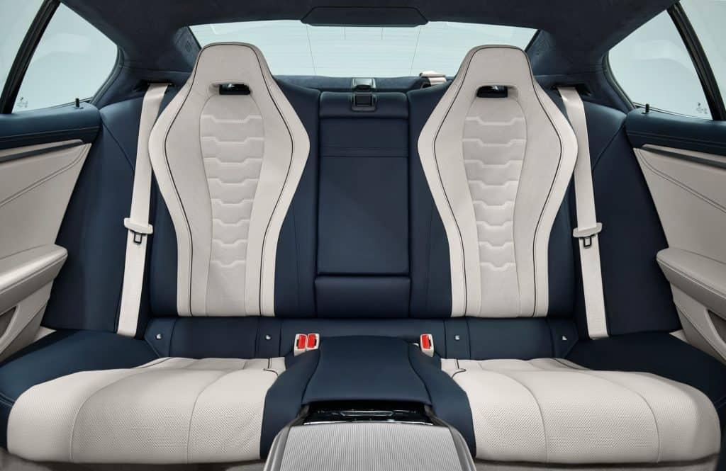 BMW 8er Gran Coupé Ledersitze