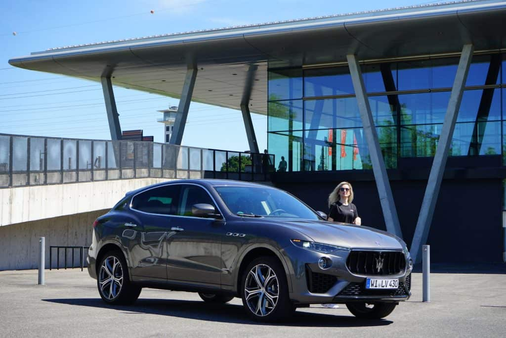 "2019 Maserati Levante S (MY 2019) in der Variante ""GranSport"""
