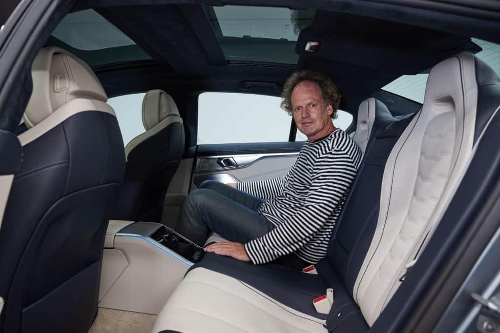 BMW 8er Gran Coupé, Rückbank