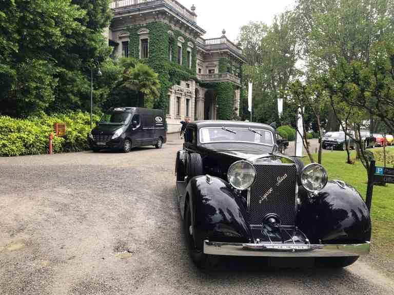Registrierung zum Concorso d'Eleganza Villa d'Este 2020 eröffnet