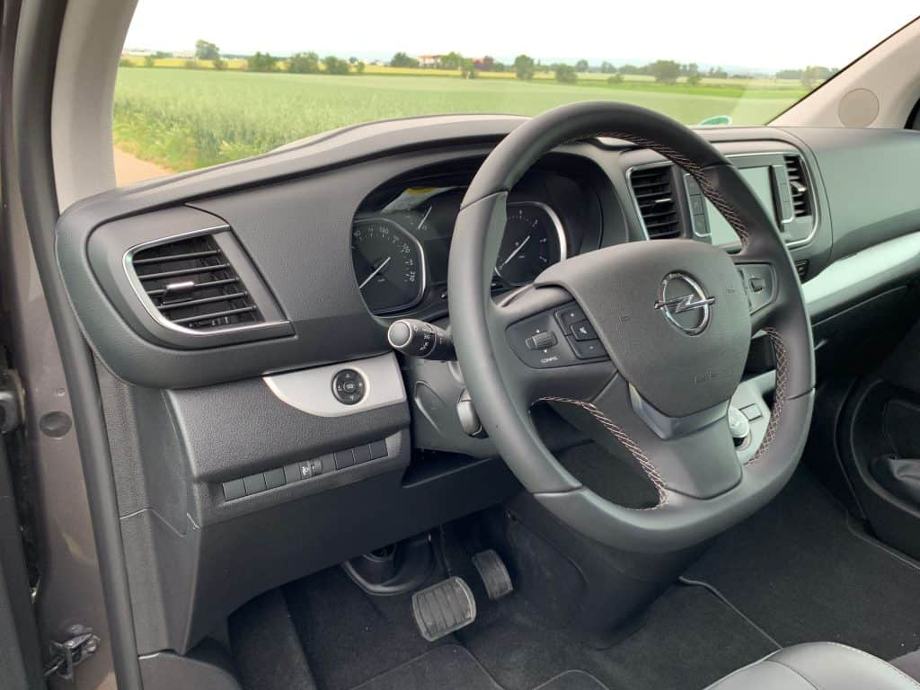 Opel Zafira Life Lenkrad