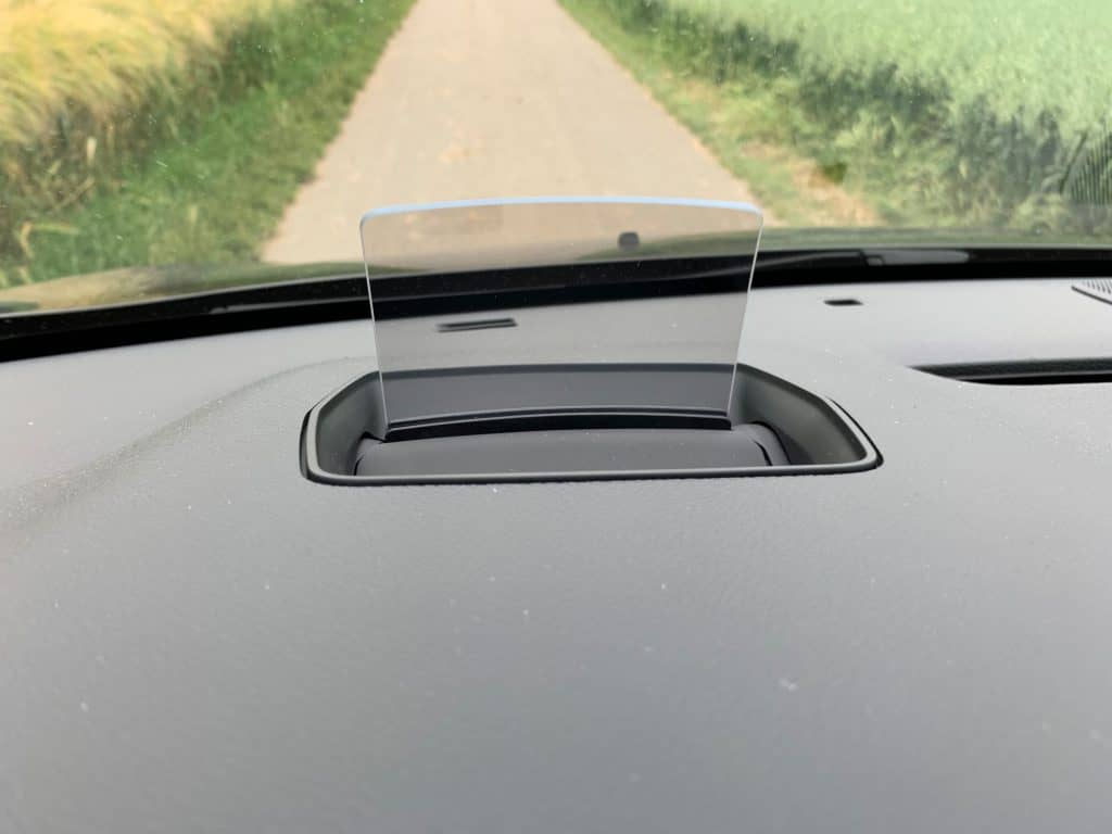 Opel Zafira Life Head-up Display