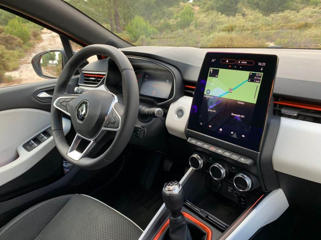 Renault Clio TCe 100, Display