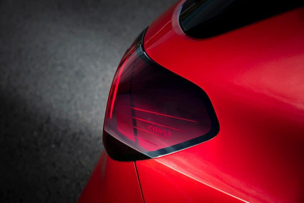 Opel-Corsa Rückleuche