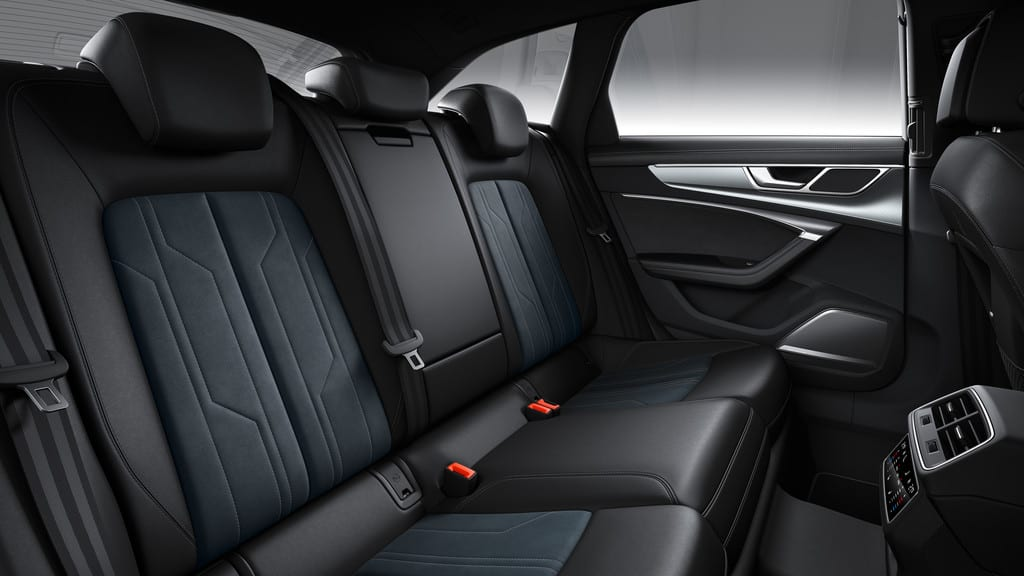 Audi A6 Allroad Quattro, Rückbank