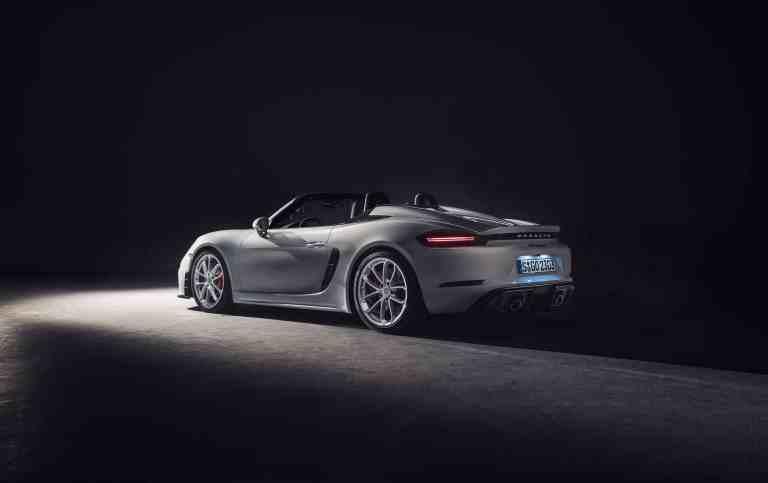 Porsche 718 Spyder.