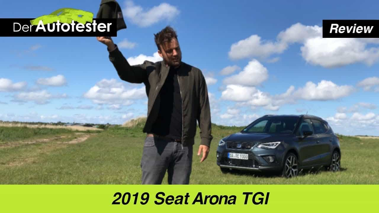 Seat Arona 1,0 TGI (90 PS), Jan Weizenecker