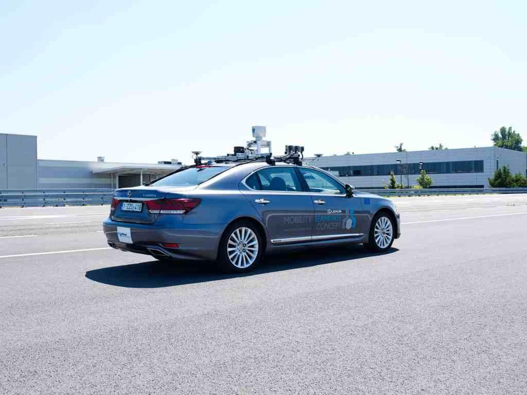 Toyota testet automatisiertes Fahren