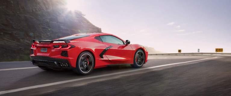 Neue Corvette Stingray, 2019