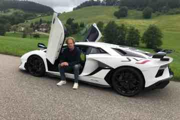 Lamborghini Aventador SVJ , Dr Friedbert Weizenecker