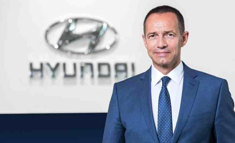 Hyundai Geschäftsführer Jürgen Keller