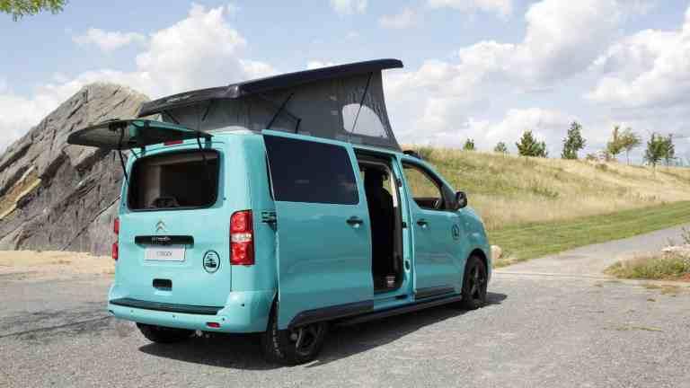 Citroën zeigt Pössl Campster Cult mit Musketier Umbau auf Caravan Salon