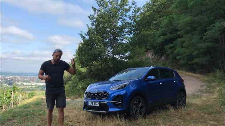 Kia Sportage 1.6 T-GDI DCT 4WD GT Line Facelift - Fahrbericht im Video