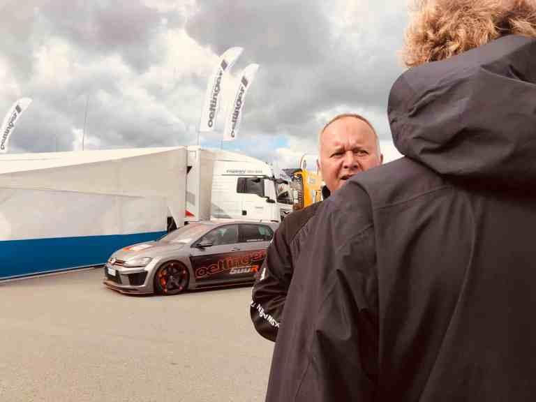 2019 ADAC TCR Germany - Saisonfinale auf dem Sachsenring - Interview mit VW-Tuner Oettinger