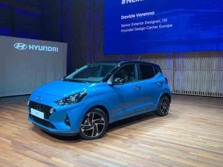 Weltpremiere für den neuen Hyundai i10