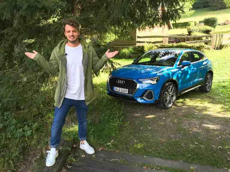 Audi Q3 Sportback 35 TFSI (150 PS) S Line, Jan Weizenecker