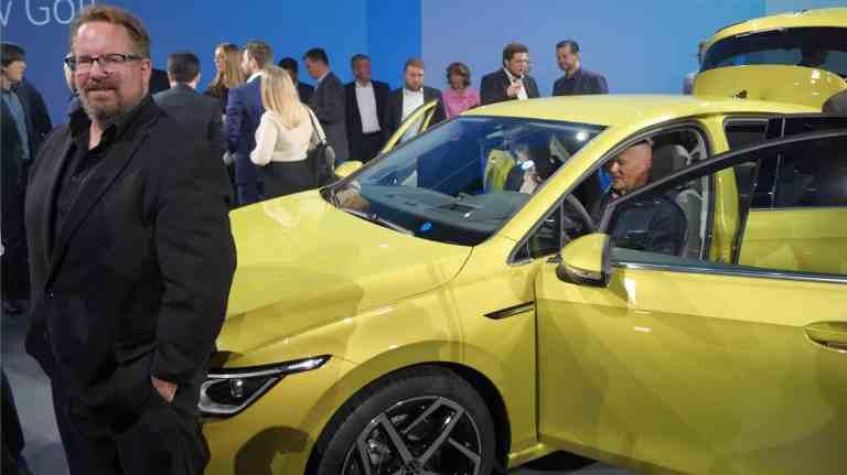 VW Golf 8, Weltpremiere in Wolfsburg, Mirko Stepan