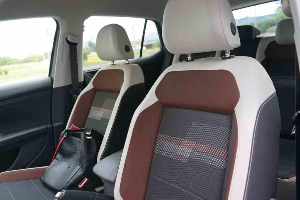 VW T-Cross, Sitze