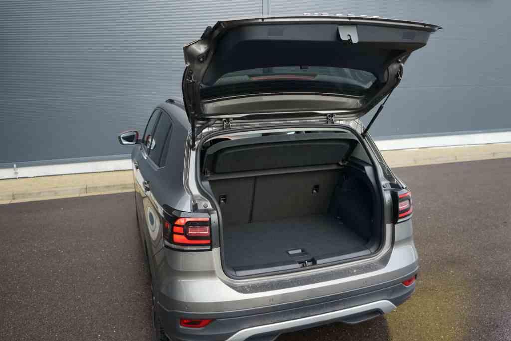 VW T-Cross, Gepäckraum