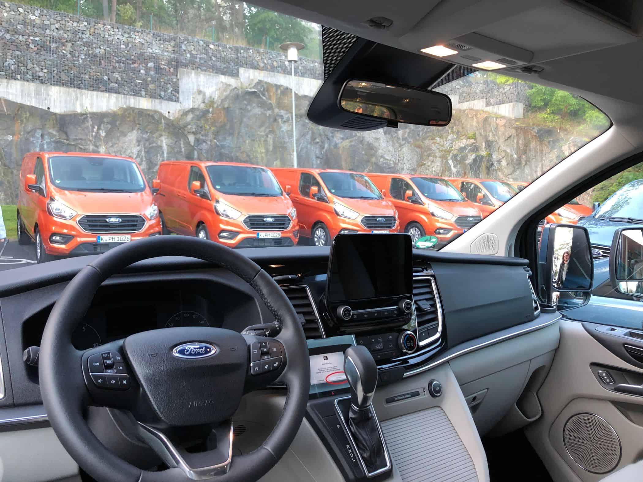 Plug-in-Technik in Ford Transit & Tourneo