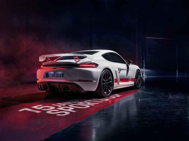 Neue Porsche 718 Cayman GT4 Sports Cup Edition