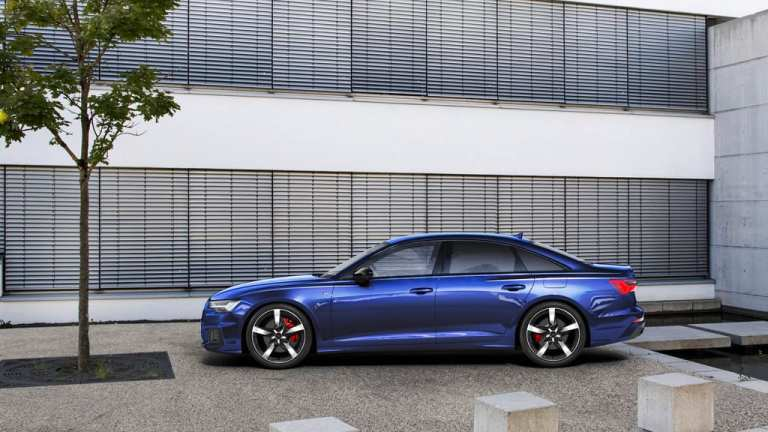 Audi A6 55 TFSI e Quattro.