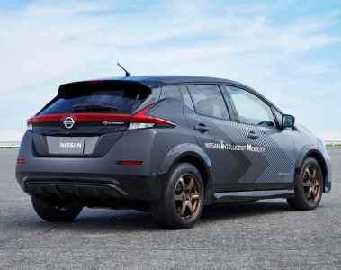 Prototyp auf Basis des Nissan Leaf e+