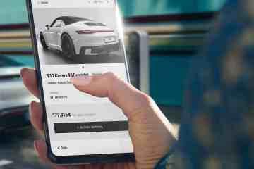 Einen Porsche kann man auch online kaufen.