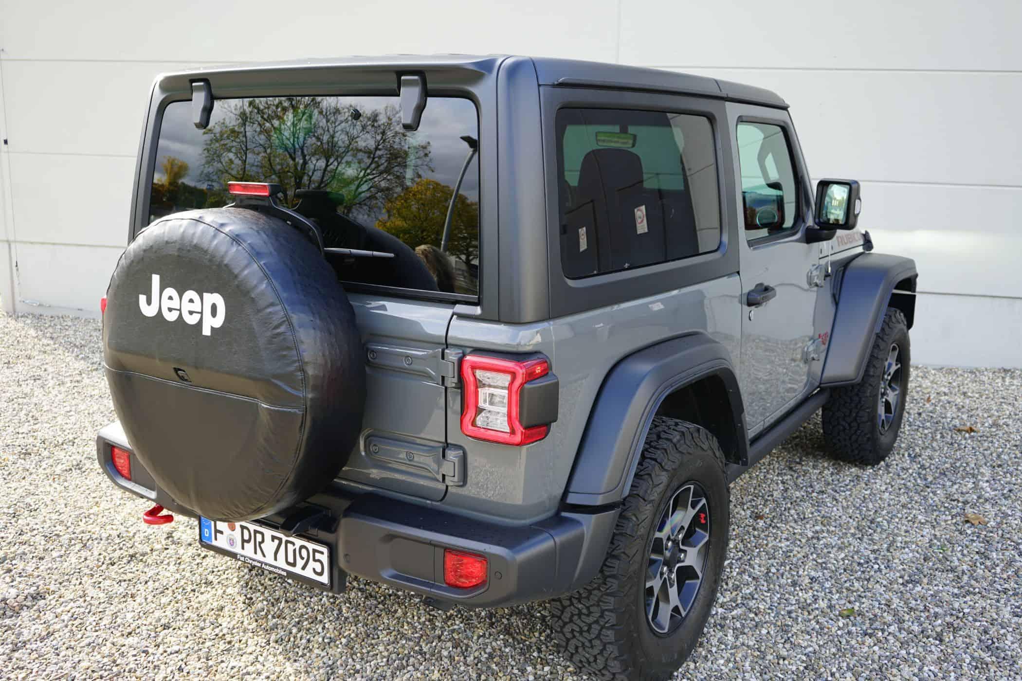"10 Fakten über den (2020) Jeep Wrangler ""Rubicon"""