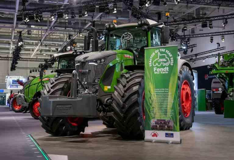 """""""Machine of the Year"""" bei der Agritechnica 2019: Fendt 900 Vario."""