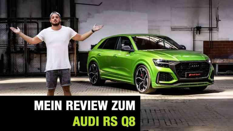 Audi RS Q8, Jan Weizenecker