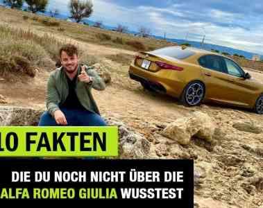 10 Fakten, die DU über die (2020) Alfa Romeo Giulia wissen solltest!, Jan Weizenecker