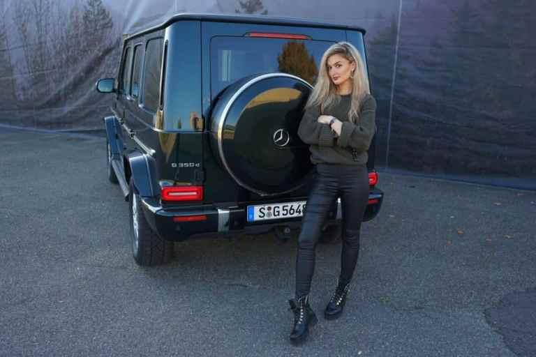 Mercedes G-350 Diesel: Luxus-Hardcore-SUV, Nina Weizenecker