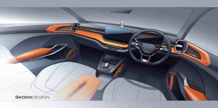 Škoda zeigt Elektro-SUV-Studie für Indien