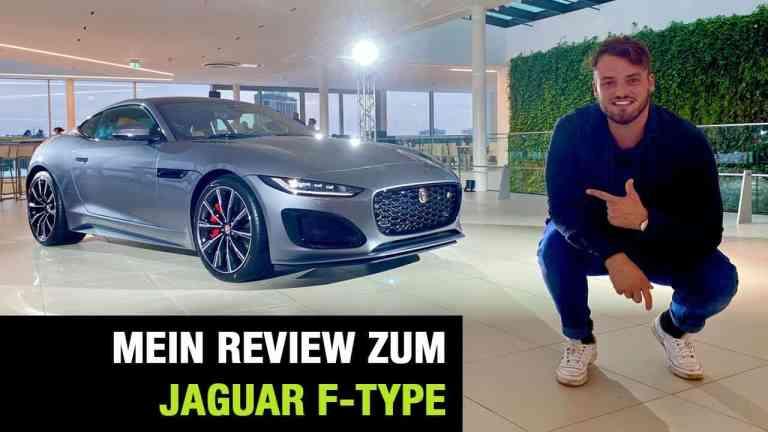 2020 Jaguar F-Type R Coupé, Jan Weizenecker