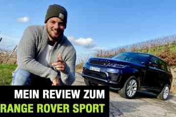 Range Rover Sport, Jan Weizenecker