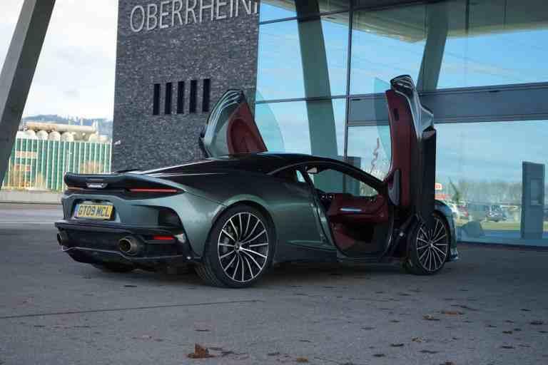 McLaren GT - Auf dem Weg zum Mond