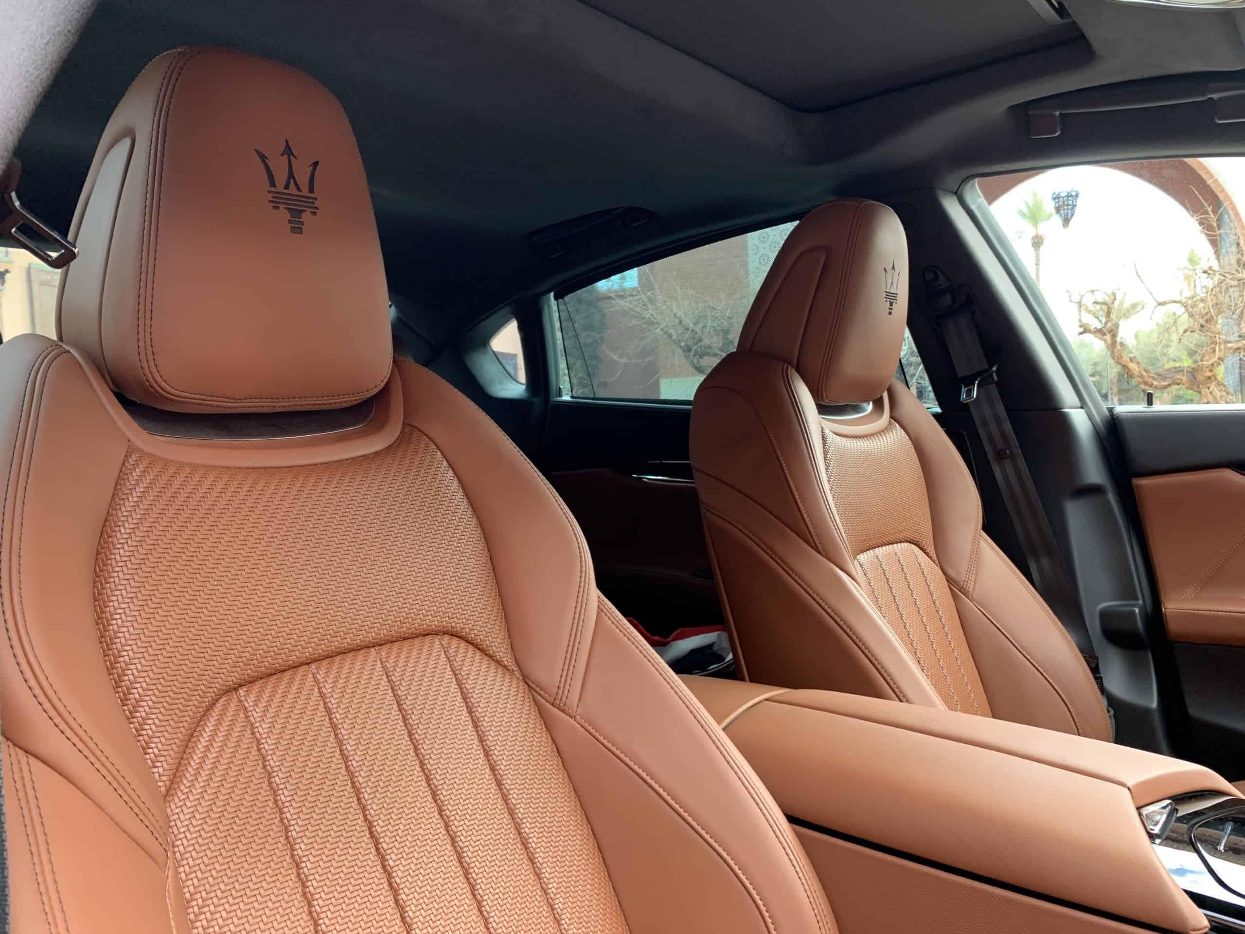 Maserati Quattroporte Royale (430 PS) Edition, Sitze