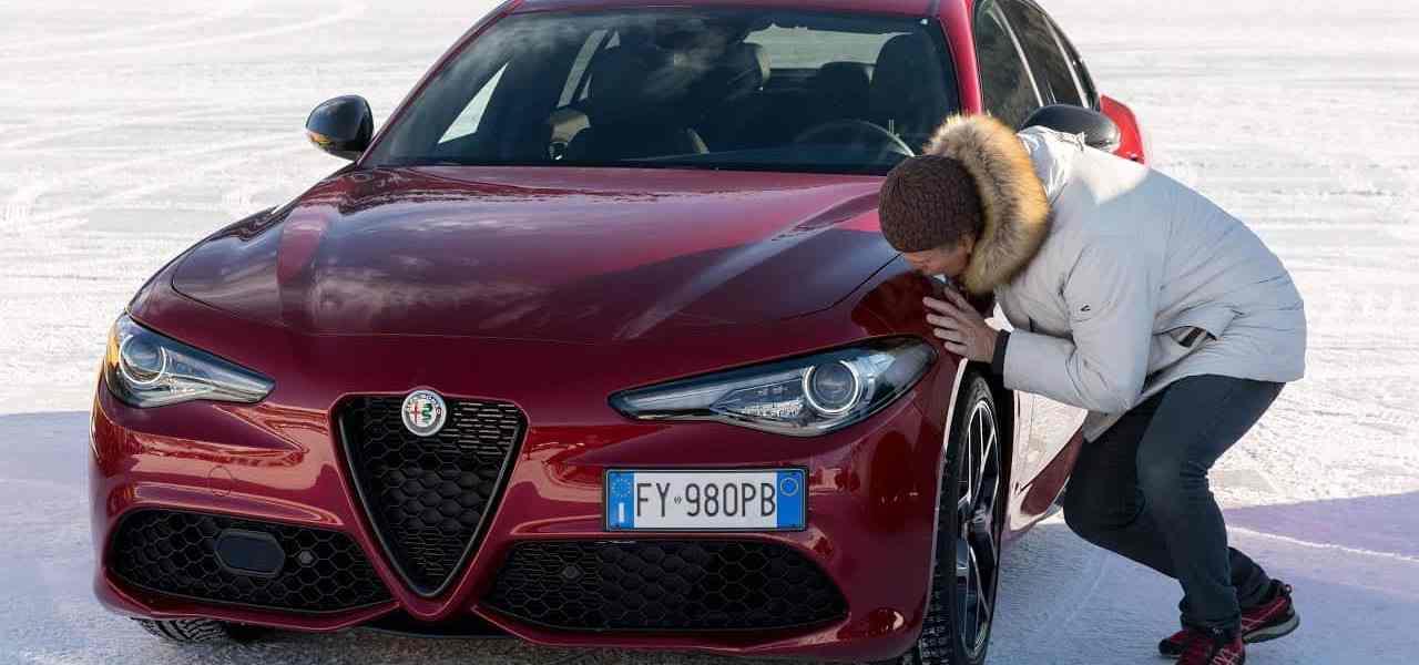"Alfa Romeo Giulia Q4 ""Veloce Ti"", Dr Friedbert Weizenecker"